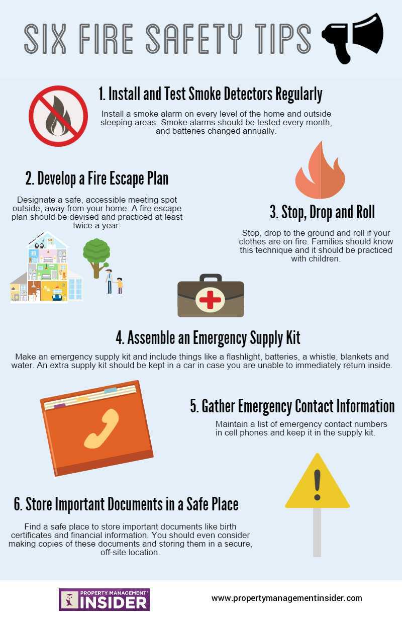 Fire Safety Tips - Property Management Insidier
